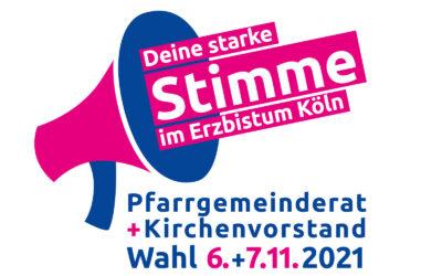 Wahlen zum Pfarrgemeinderat am 6. und 7. November